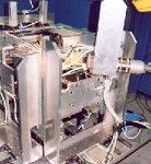 Welding side face of copier body