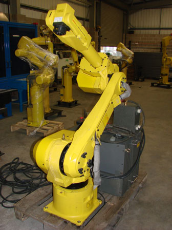 Fanuc 120iBE sold to another of our customers in the Midlands