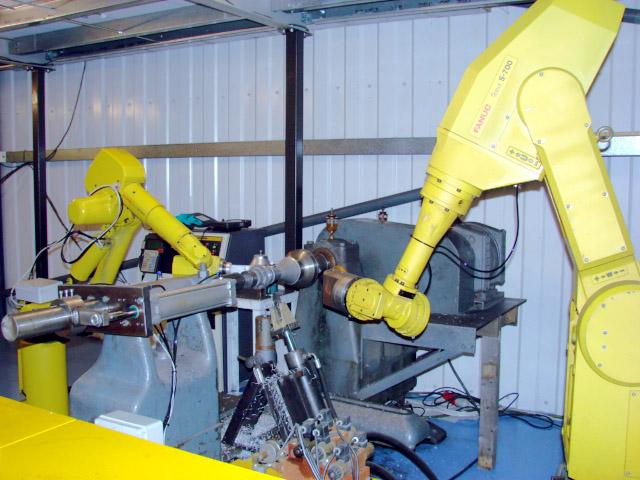 Robot metal spinning