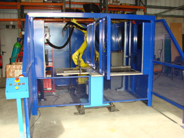 Used Manual End Changer System