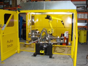 Mig Welding Cell For Wheelbarrow Manufacturing Autotech