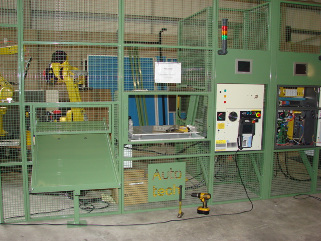 System for tending reconditioned presses