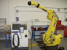 A second robot to a local tyre remanufacturing company
