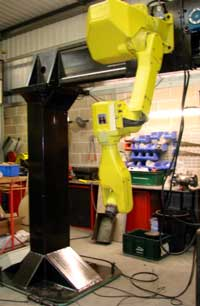 Robotic Overhead Gantry system