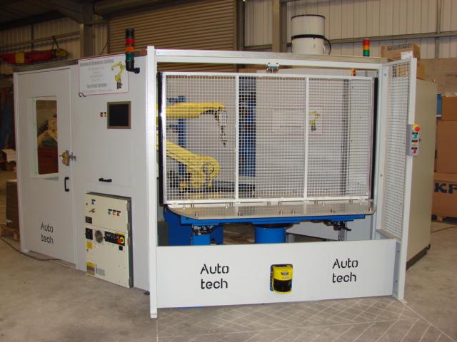 Robotic Grinding Machine Tending